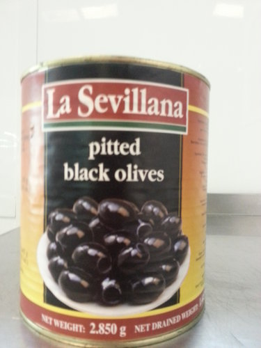 Aceitunas Negras 5 Kg. Bote - Black Olives (Can) 5 Kg. Bote